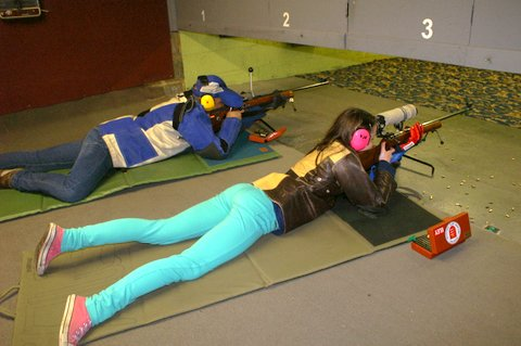 Prone Rifle Shooting